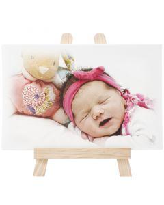 Baby toile émotion sur chevalet